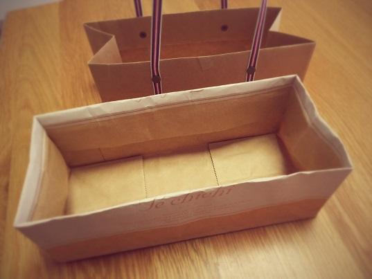 紙袋でBOX①