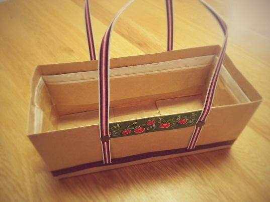 紙袋でBOX③