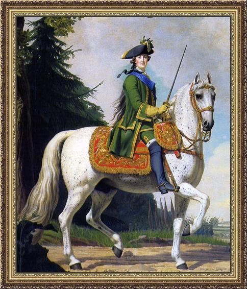 Catherine_II_of_Russia_by_Vigilius_Eriksen_-_Конный_портрет_Екатерины_Великой._-_1762