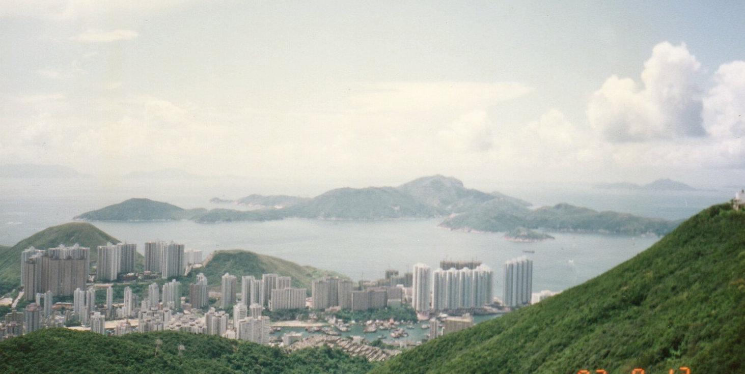 5度目の香港(1992年7月)⑪ビクトリアピーク-1