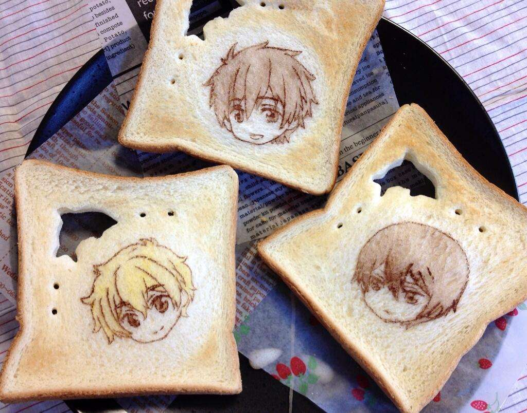 食パンアート これすごすぎる