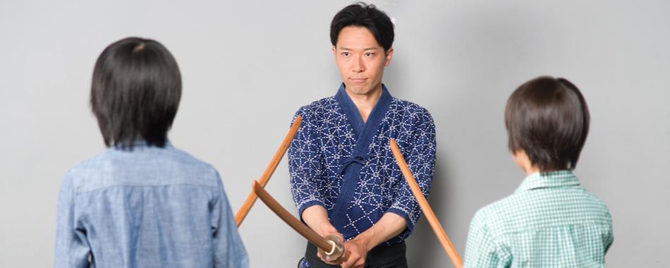 殺陣講座京都太秦映画村