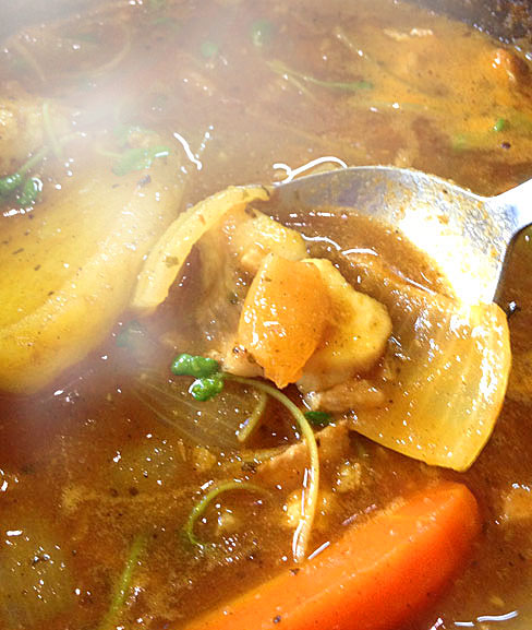 スープカレー―取材