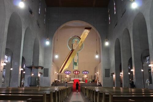 0008:世界平和記念聖堂 内観①