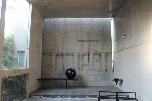 0011:六甲の教会「風の教会」 内観①