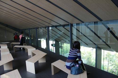 0022:根津美術館 中二階休憩スペース