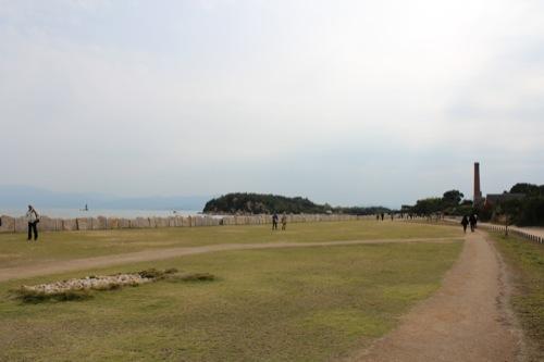 0023:犬島製錬所美術館 港から美術館まで