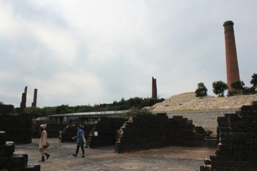 0023:犬島製錬所美術館 カラミ煉瓦群①
