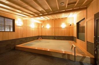 極楽湯 檜風呂