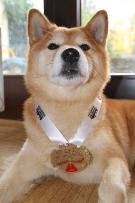 asukaとメダル
