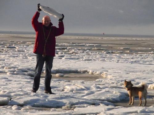 流氷とオランダ人
