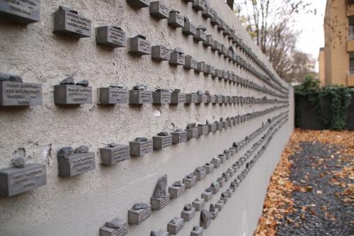 ユダヤ人墓地の壁