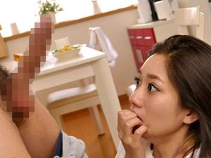 【東凛】義理の弟に迫られデカチンを挿入されデカチンじゃないと満足できないマンコになってしまった美人妻