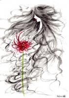 血の花伝説Padma絵
