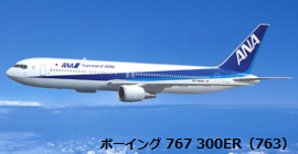 ANA機材 B767-300ER
