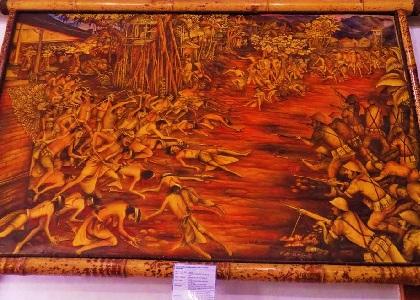 スマラプラ宮殿の天井画の画像