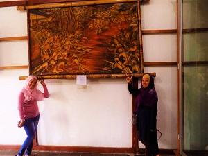 スマラプラ博物館のオランダ戦の画の画像