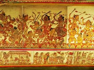 スマラプラ宮殿の天井画の画像2