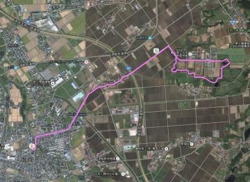 五農の森GPS