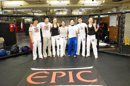 Capoeira Brasil HK Mestra Jo Class訪問 2014.11