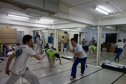 二人組での練習