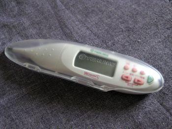 chaako28のブログ-電子体温計