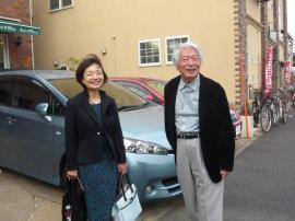 舘野 泉先生と久保春代先生