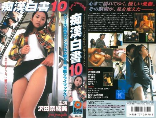 痴漢白書10 VHSパッケージ