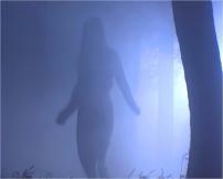 森を逃げたして来るひとつの影