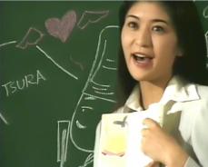 古典の授業をしている淑子