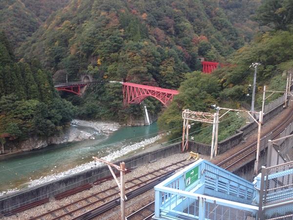 T030宇奈月駅より