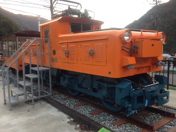 T31トロッコ電車-展示車両