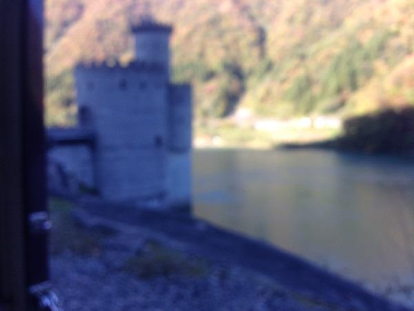 T036宇奈月湖水門