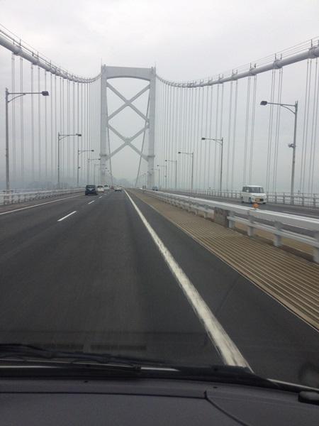 K24大鳴門橋を渡る