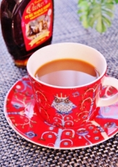 コーヒー&紅茶=鴛鴦茶(えんおうちゃ)  by メルティローズ (248x350)