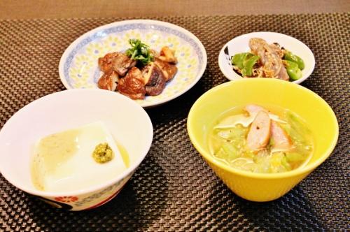 晩御飯 (500x332)