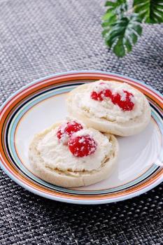 スイートなトマトクリームチーズトースト by カルン