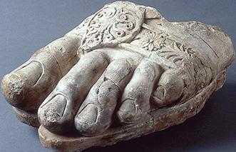 ゼウスの足