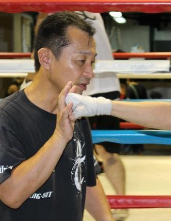 島田 横顔