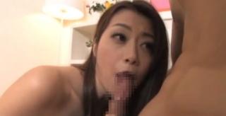 美熟女北条麻妃フェラ舐め画像