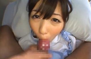 性欲処理看護婦麻倉優馬乗りフェラ画像
