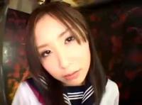 【オナニー 無修正動画】adaruto 制服を着たお姉さんの見せつけディルドオナニー!!オマンコから垂れ流れる白濁液体がエロすぎる!!
