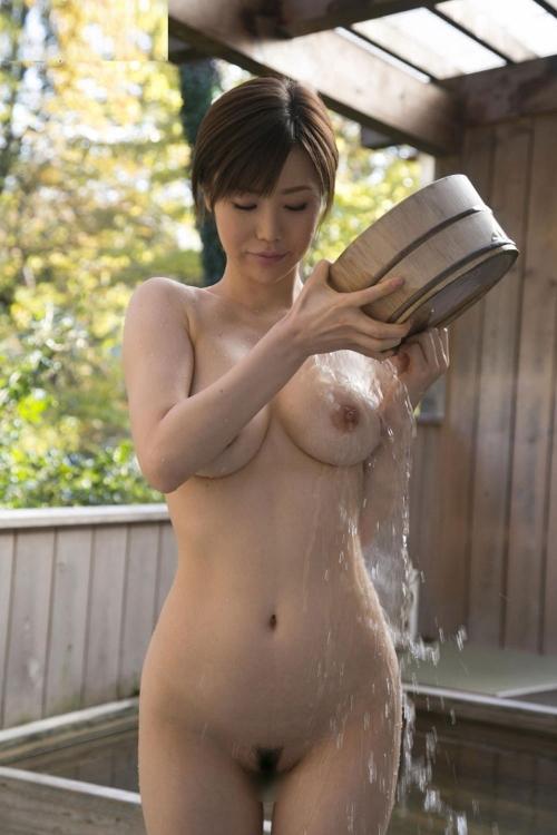 お風呂 おっぱい 13