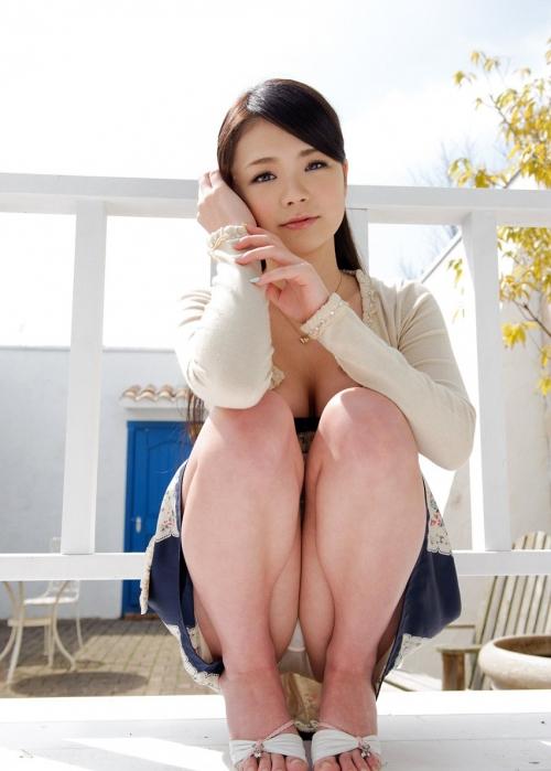 しゃがみパンチラ コスプレ モリマン 02