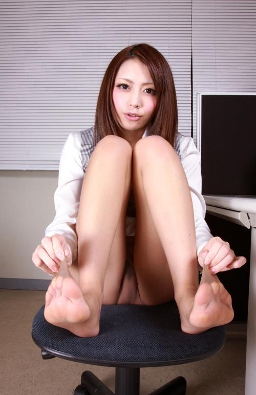 桜井あゆ Bカップ AV女優 パンスト 18