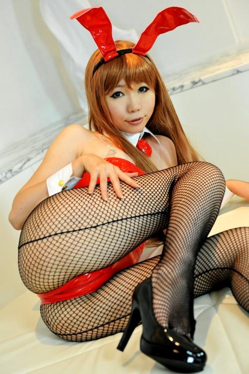 バニーガール コスプレ 03
