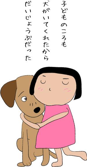 子どもと犬