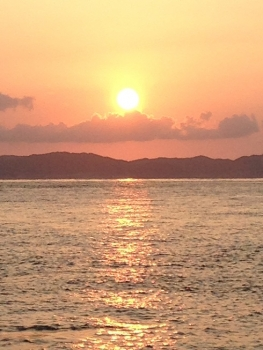 日の出・・・