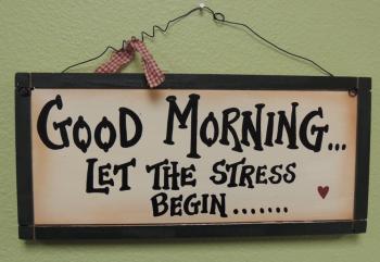 おはようストレス