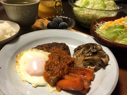 Sep01_トマトソースのハンバーグ